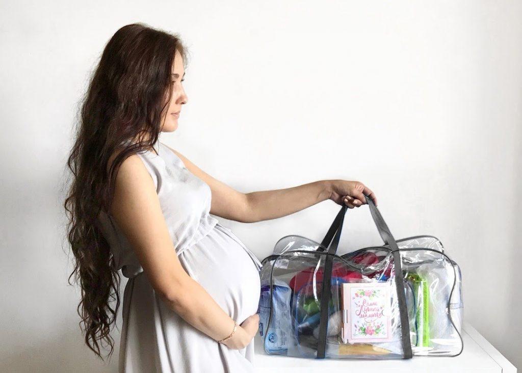 Вещи на время родов